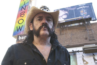 "Rock doc: ""Lemmy""."