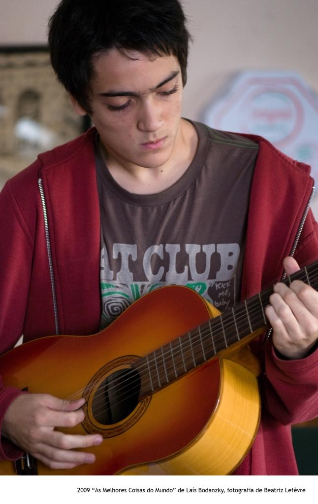 Mano (Francisco Miguez) no filme. Foto: Beatriz Lefèvre