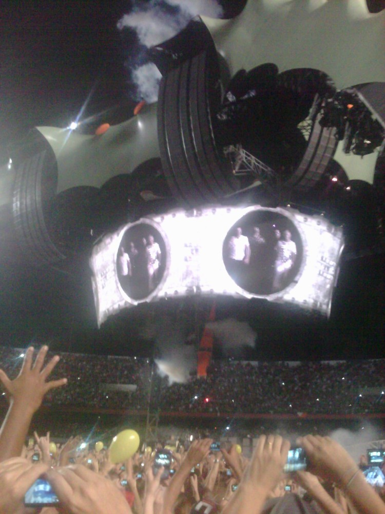 U2 360º, Morumbi, 13/04/2011