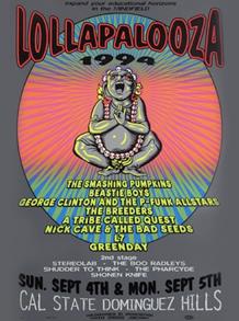 Cartaz de uma das datas do Lolla 94 | www.lollapalooza.com