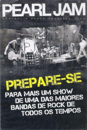 FLYER Pearl Jam