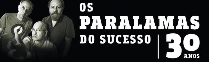 flyer Paralamas 30 anos