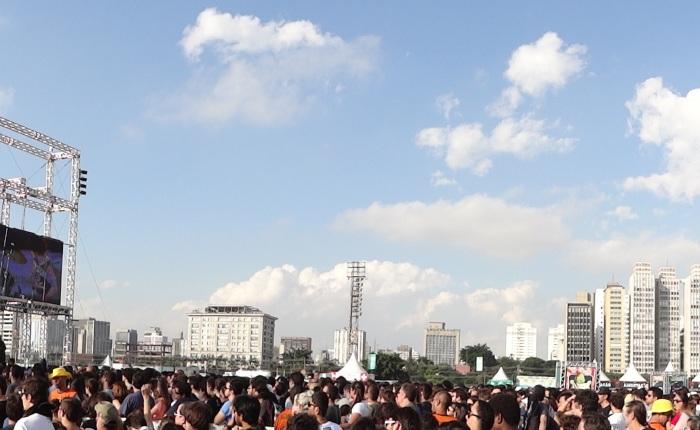 Ele toca fácil. Gary Clark Jr, Lollapalooza Brasil, São Paulo,30/03/2013.