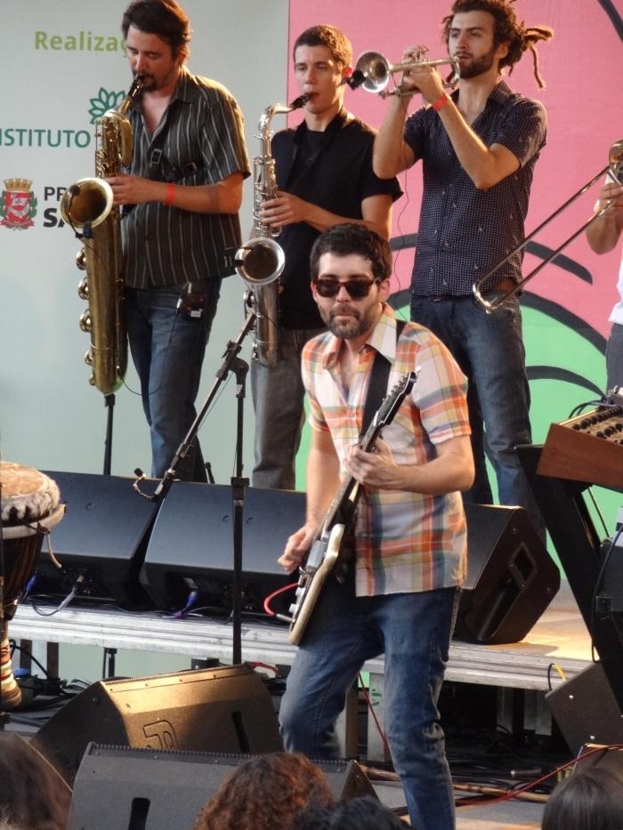 Mauricio Fleury, teclados e guitarra, Bixiga 70