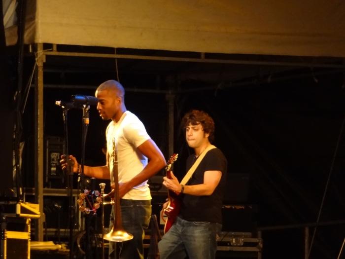 Trombone Shorty, Parque do Ibirapuera, São Paulo, 18/08/13