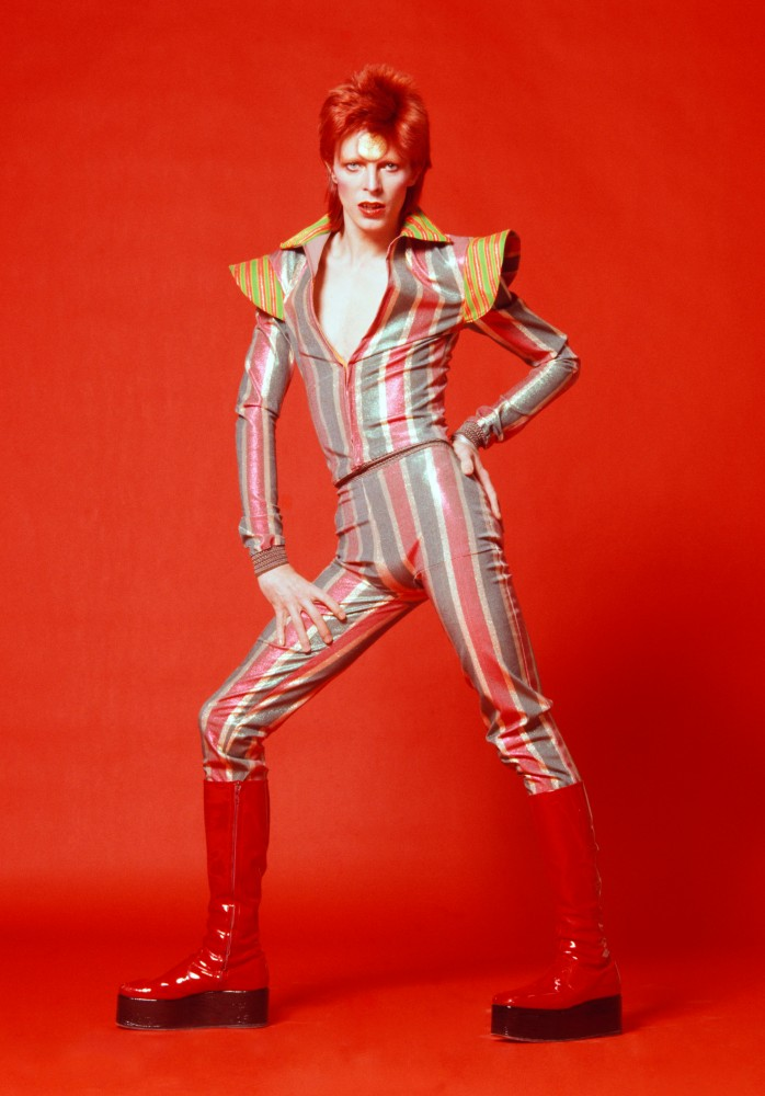 David Robert Jones. Major Tom. Ziggy Stardust. Starman. David Bowie. No MIS. (5/6)