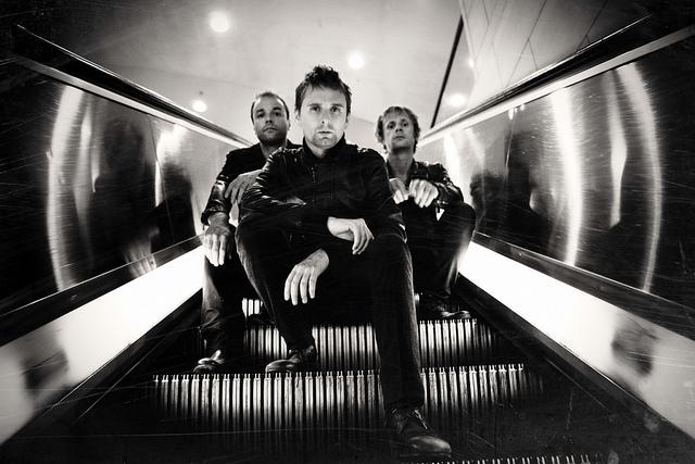 O Muse, #headliner do Palco primeira noite da festa indie / rock.