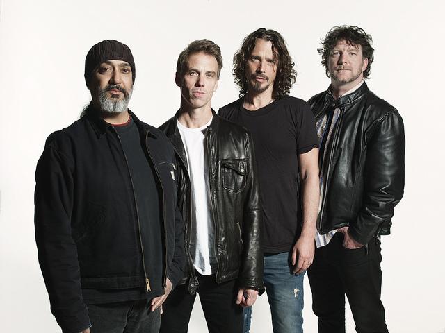 Soundgarden, enfim. FOTO Michael Levine.