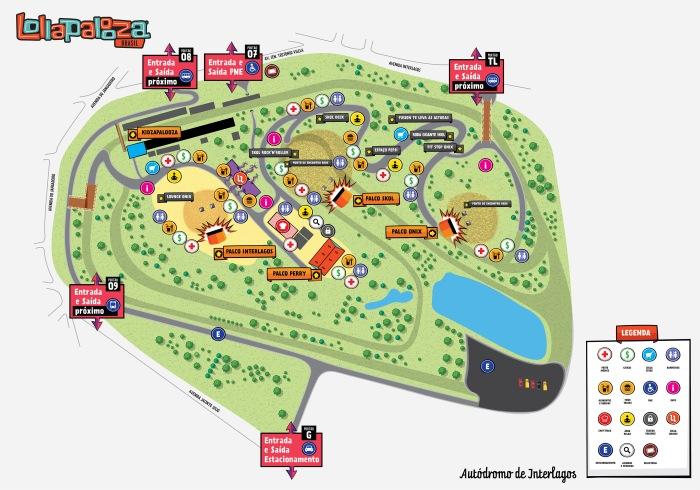 O mapa da mina. http://www.lollapaloozabr.com/