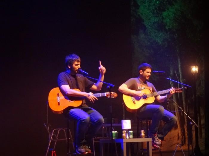 Estopa em A Coruña, 23/05/2014.