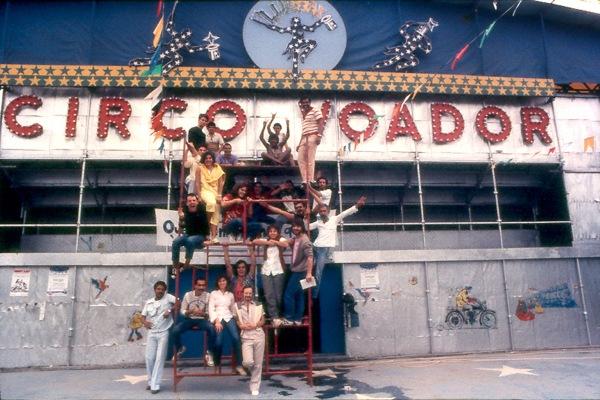 Circo Voador na Lapa 1985 Foto de Marcio RM / A FARRA DO CIRCO / Divulgação