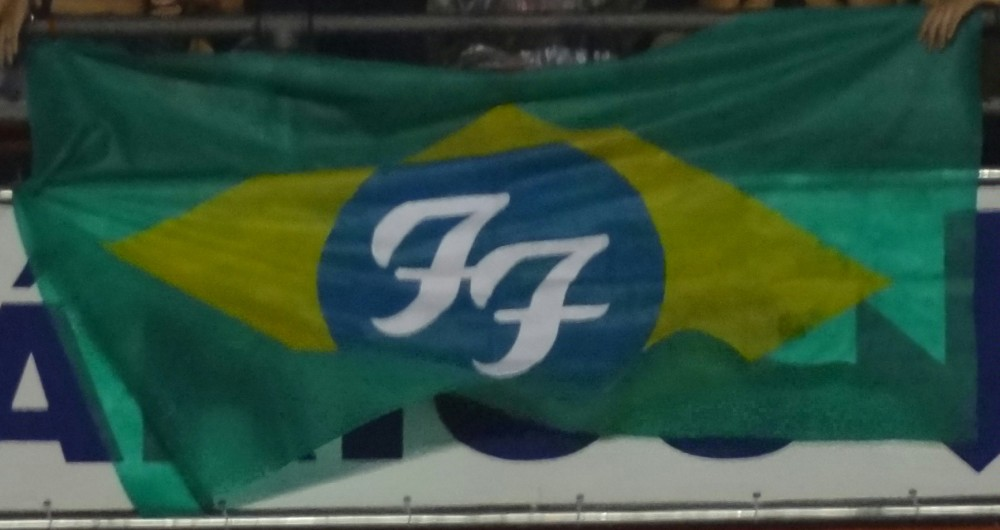 Uma carta de amor ao rock and roll. Foo Fighters, Morumbi, 23/01/2015. (3/6)