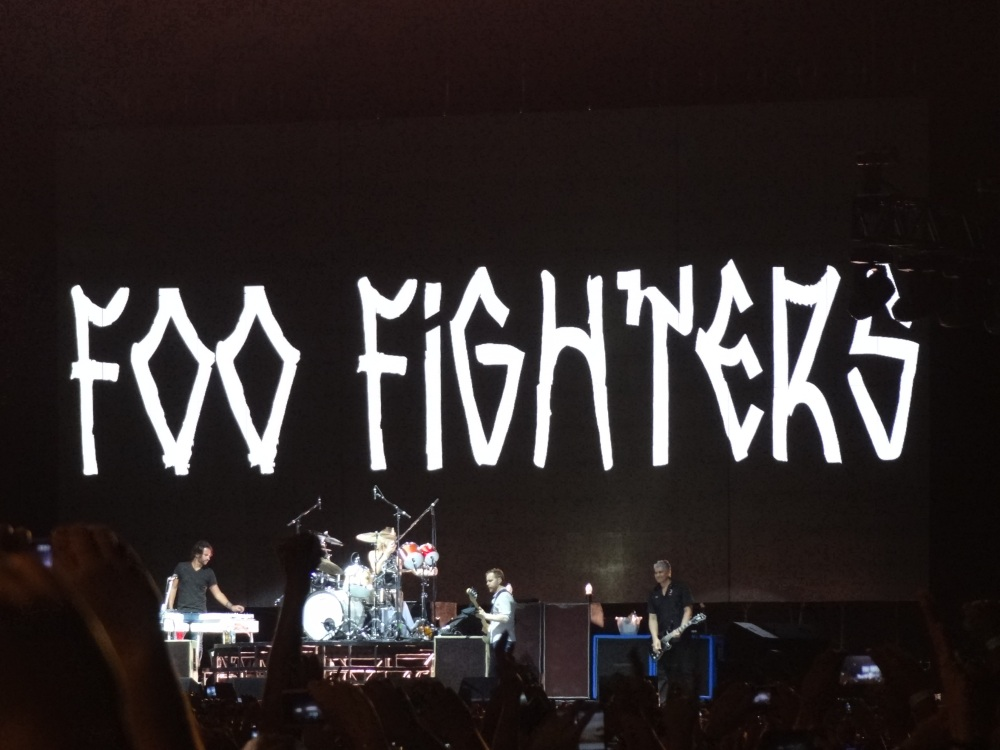 Uma carta de amor ao rock and roll. Foo Fighters, Morumbi, 23/01/2015. (4/6)