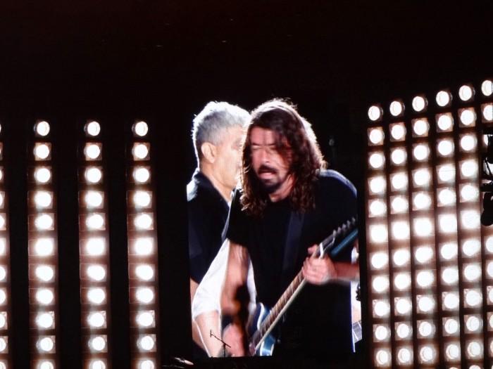 Foo Fighters no Morumbi, 23 de janeiro de 2015.