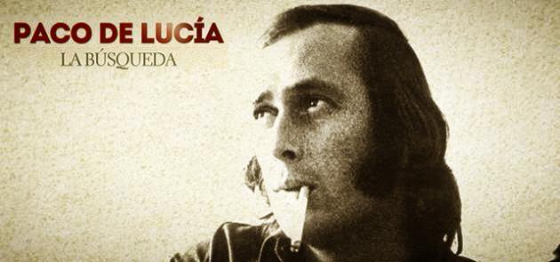 """""""Paco de Lucía – La Búsqueda"""". Um banho de Espanha, de Andaluzia, de guitarra flamenca, demúsica."""